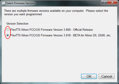 How to enable the beta firmware options.